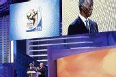 图文:[抽签]世界杯预赛 布拉特与姆贝基