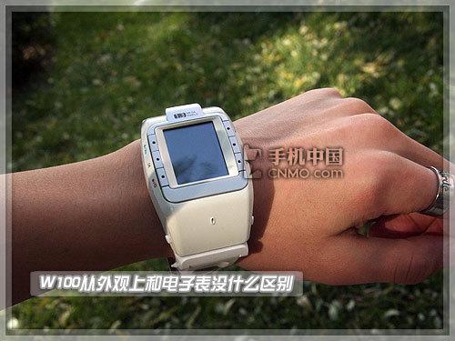 与特工同行 CECT腕表手机W100详细评测