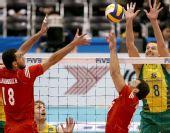 图文:[男排]世界杯巴西胜突尼斯 穆里洛拦网