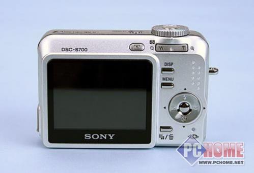 点击查看本文图片 索尼 DSC-S700 - 索尼S700时尚卡片数码相机售价1090元
