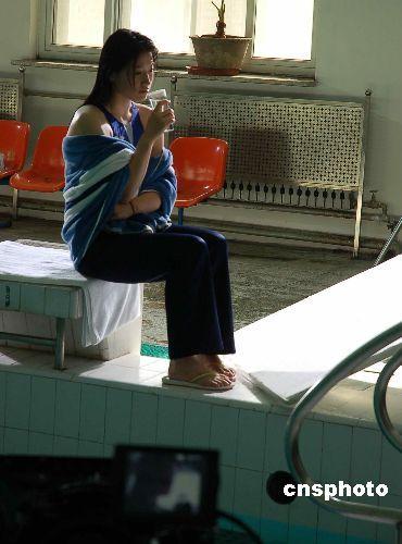 罗雪娟倾情出演奥运公益片