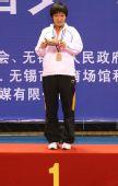 图文:[乒乓球]刘诗雯4-2李晓霞 夺金后的兴奋