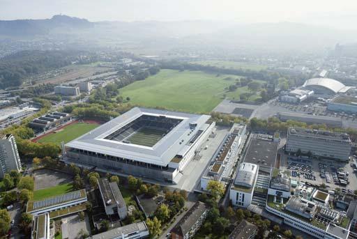 图文:欧洲杯比赛场地介绍 范可多夫体育场
