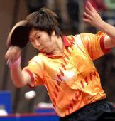 图文:[乒乓球]刘诗雯4-2李晓霞 凶猛的刘诗雯