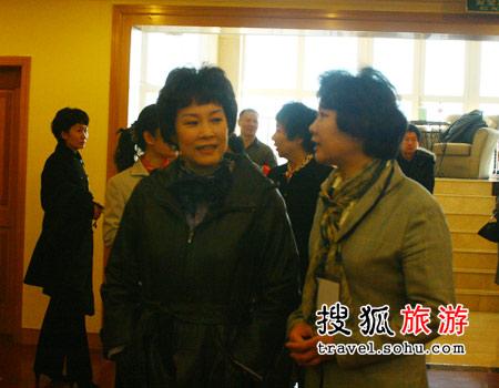图说国航奥运空乘——副总裁杨丽华亲临现场