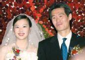 图文:体坛明星婚礼大荟萃 国脚李霄鹏与新娘
