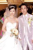 图文:体坛明星婚礼大荟萃 祁宏和新娘沈谦倩