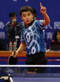 图文:[乒乓球]王皓4-1马龙 遥指第一