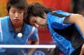 图文:[乒乓球]郭跃/李晓霞夺冠 晓霞从容回球