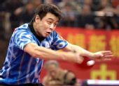 图文:[乒乓球]王皓4-1马龙 施展直拍横打绝技