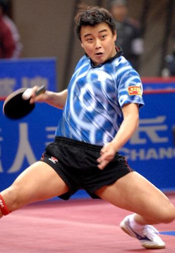 图文:[乒乓球]王皓4-1马龙 远台攻防也有把握