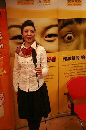 预防艾滋宣传员李丹阳做客搜狐