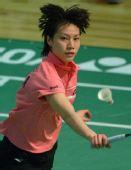 图文:香港公开赛谢杏芳晋级四强 搞笑发型