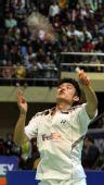 图文:[羽球]香港赛林丹2-0陶菲克 严密防守