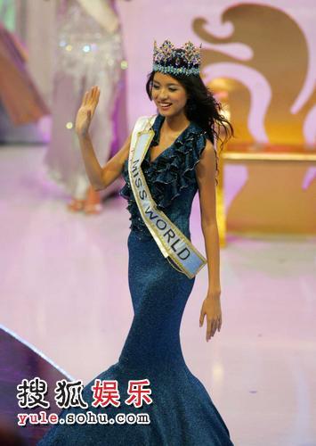 中国小姐张梓琳夺得第57届世界小姐桂冠