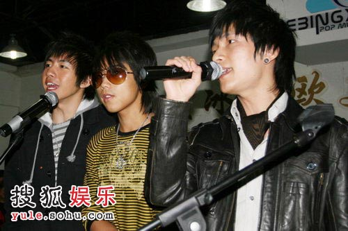 陈楚生、苏醒、俞灏明三位优秀偶像歌手
