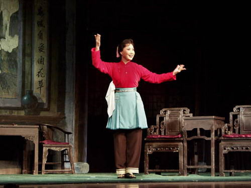 资料图片:北京京剧院一团《沙家浜》-王蓉蓉2