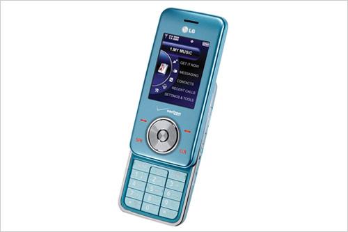力再变味 LG冰蓝色巧克力手机推出图片