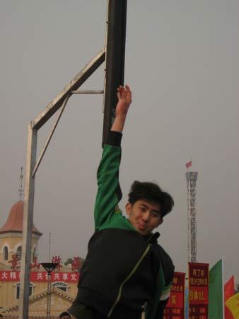 图文:《赢奥运门票争霸王中王》 比赛活动现场