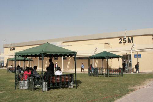 科威特射击中心一景