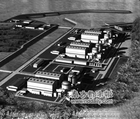阳江核电厂建成后效果图
