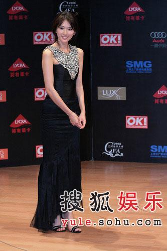 06年风尚大典 林志玲担任颁奖嘉宾
