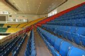 图文:首都体育馆扩改建竣工验收  观众座席