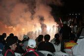 图文:2007射击亚锦赛开幕式精彩 盛大的篝火