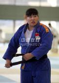 图文:中国女柔备战08奥运 老将袁华重披战袍