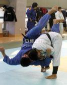 图文:中国女柔备战08奥运 杨秀丽场上积极训练