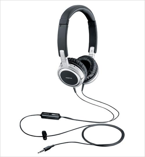 尽享音乐风 诺基亚发布两款立体声耳机