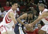 图文:[NBA]灰熊VS火箭 盖伊拼死抵抗