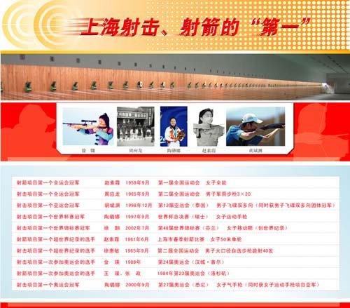 图文:上海射击射箭运动中心射击射箭的第一上海中医药大学排球图片