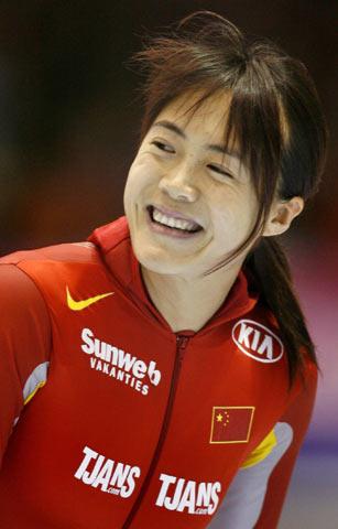 王北星夺冠美丽微笑(点击组图)