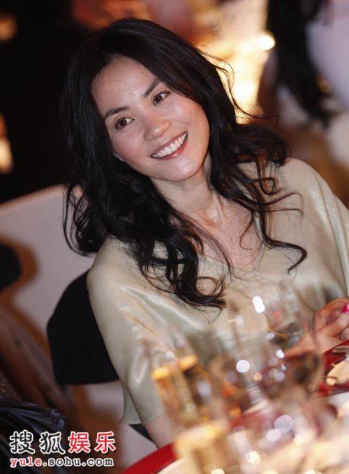 图:嫣然晚宴盛况空前 王菲亮丽依旧