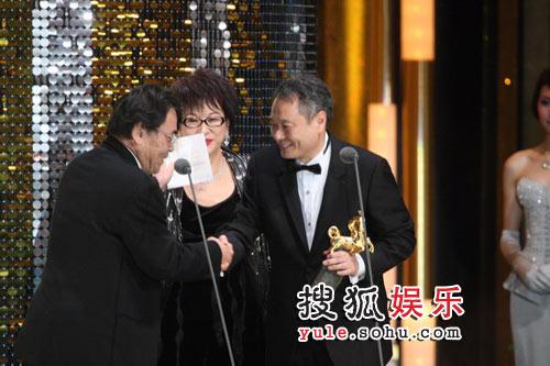 图:44届金马颁奖礼 台湾杰出电影工作者