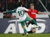 图文:[德甲]汉诺威4-3不来梅 迭戈先出一脚