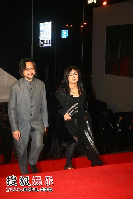 图:2007莱卡风尚大典 齐豫赖声川搭伴走红毯