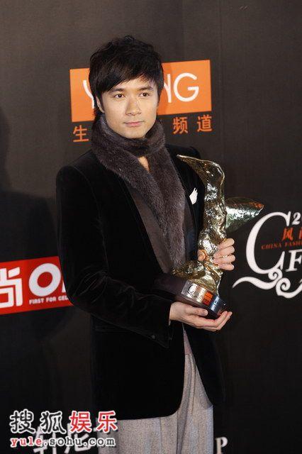 图:莱卡风尚大典 古巨基获风尚亚洲杰出歌手