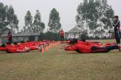 图文:[国足]福家军强化体能 艰苦体能训练