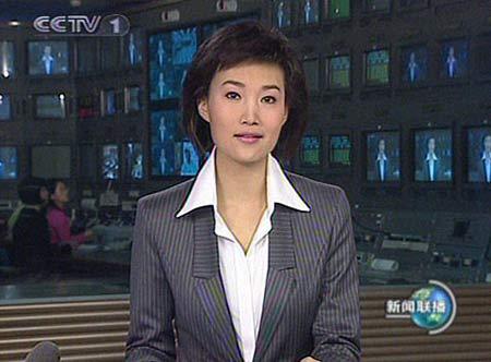 李梓萌再次亮相新闻联播