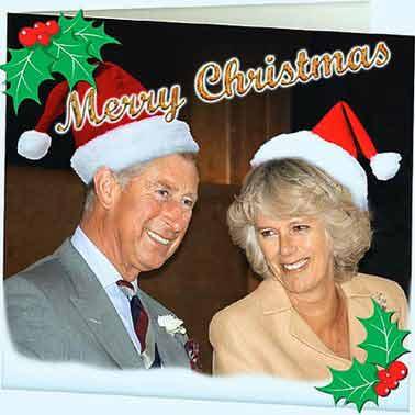 """《每日邮报》对查尔斯夫妇的圣诞贺卡照片进行了""""篡改""""。"""