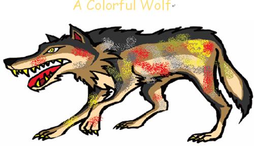 色狼舞衣_《笑死我的英文书》:彩色的狼≠色狼