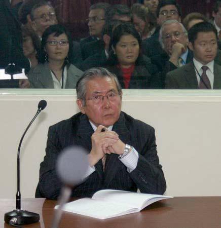 藤森在法庭上声称:我是无辜的