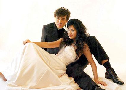 张玉宁与妻子