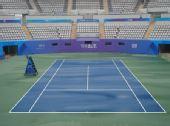 """图文:奥运""""花朵""""网球场 静待网球巅峰对决"""