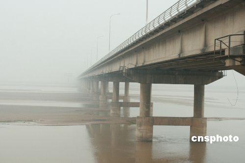 黄河郑州流域创流量水位新低