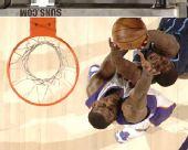 图文:[NBA]太阳险胜爵士 小斯封盖对手