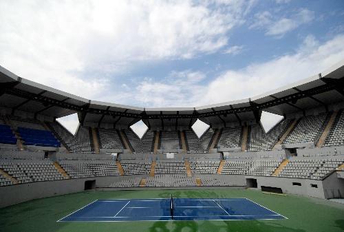 网球中心内部