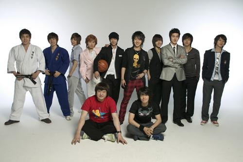 年度最闪亮新人提名— SJ《花美男》